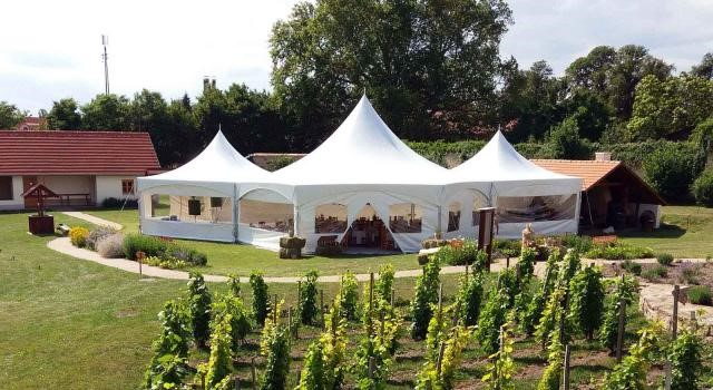 Here is the party tent secret